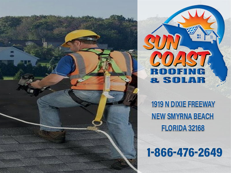 Roofer with Harness