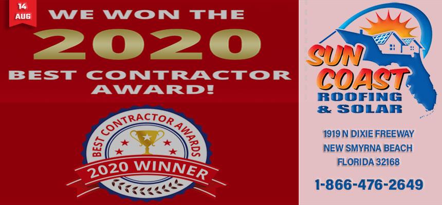 2020 Best Contractor Award