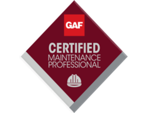 GAF Certified Maintenance Professional