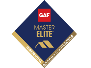 GAF Master Elite Contractor Award