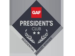 GAF Presidents Club Award