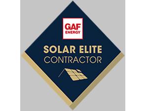 GAF Solar Elite Contrctor Award