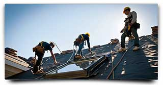 Roofing Crews at Work