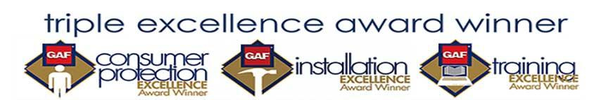 GAF Triple Excellence Award