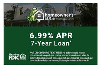7-year loan Financing