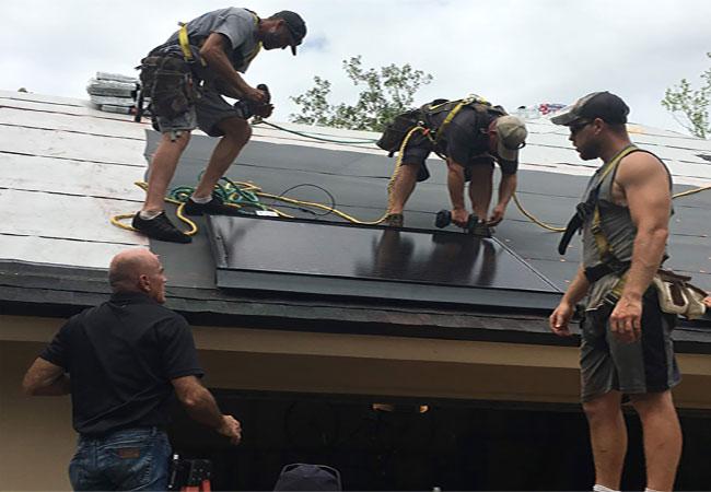 Dectoch Solar Install