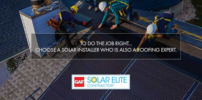 GAF Certified Solar Elite Installer