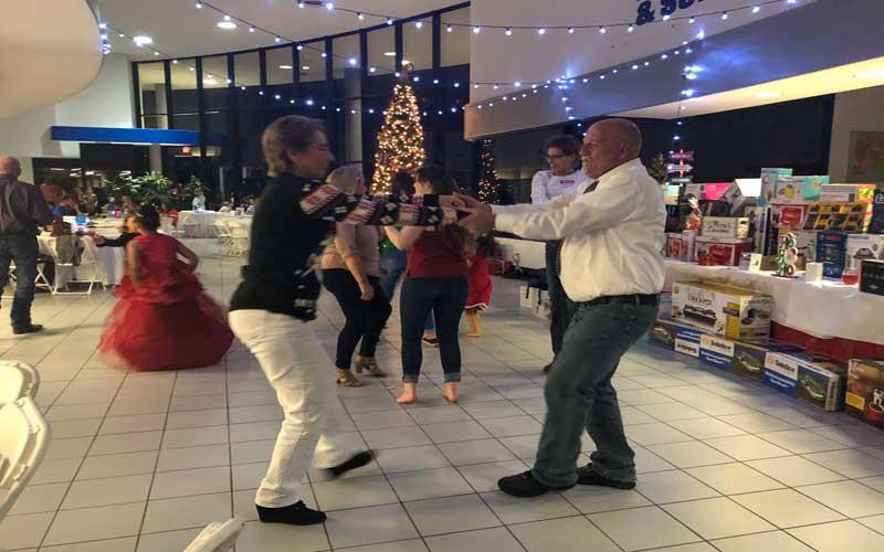 Kevin Sims Dancing