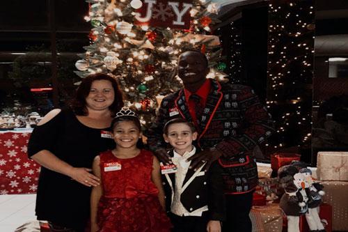 Jarvis Holder & Family