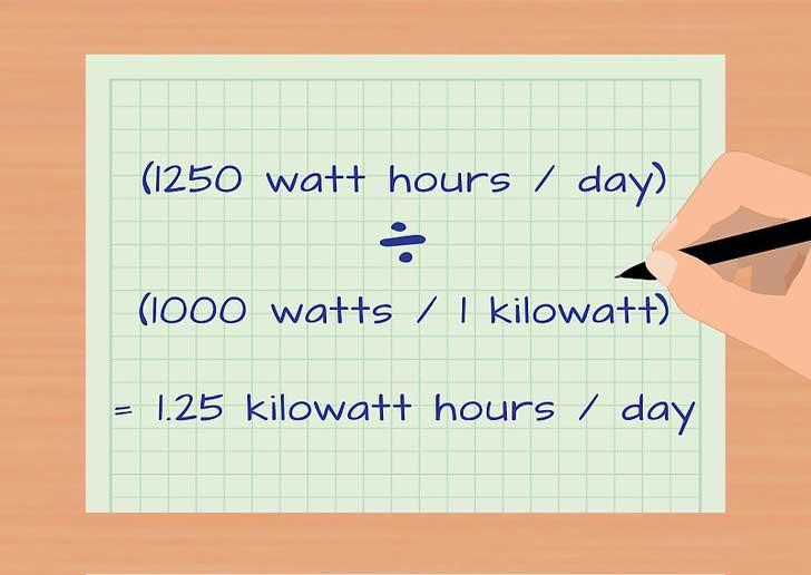 Calculate Kilowatt Hours