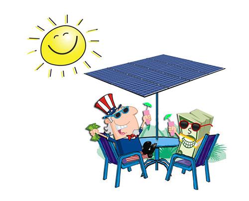 Happy to go solar